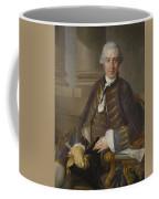 Louis-gabriel Blanchet Paris 1705 - 1772   Portrait Of A Gentleman Coffee Mug
