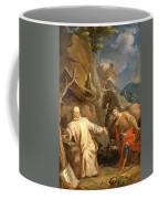 Louis Galloche - Saint Martin Sharing His Coat With A Beggar Coffee Mug