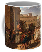Louis Lafitte - Brutus Listening To The Ambassadors From The Tarquins Coffee Mug