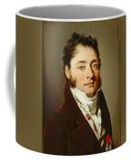 Louis-leopold Boilly - Portrait Of A Gentleman Coffee Mug