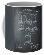 Louis Pasteur Brewing Beer And Ale Patent 1873 Chalk Coffee Mug