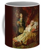 Louis Xv And Madame Dubarry Coffee Mug