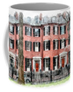 Louisburg Square Beacon Hill Boston Coffee Mug