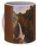 Louise-josephine Sarazin De Belmont  The Falls At Tivoli Coffee Mug