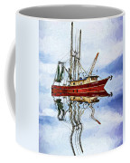 Louisiana Shrimp Boat 4 - Impasto Coffee Mug