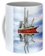 Louisiana Shrimp Boat 4 - Paint Coffee Mug