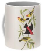 Louisiana Tanager Or Scarlet Tanager  Coffee Mug
