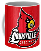 Louisville Cardinals Barn Door Coffee Mug