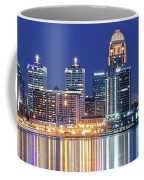 Louisville Kentucky Lights Coffee Mug