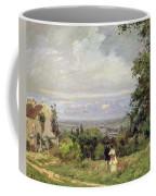Louveciennes Coffee Mug by Camille Pissarro