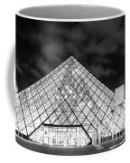 Louvre Museum Bw Coffee Mug