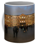 Louvre Palace, Cour Carree Coffee Mug by Mark Czerniec