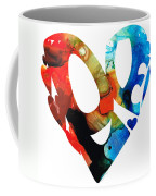 Love 8 - Heart Hearts Romantic Art Coffee Mug