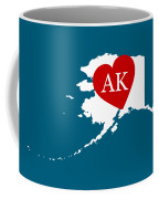 Love Alaska White Coffee Mug