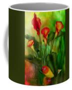 Love Among The Lilies  Coffee Mug