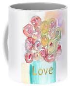 Love And Roses- Art By Linda Woods Coffee Mug