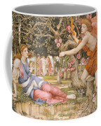 Love And The Maiden Coffee Mug by JRS Stanhope