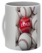 Love Baseball Coffee Mug