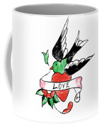 Love Bird Tattoo Coffee Mug