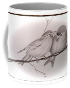Love Birds Coffee Mug by Ginny Youngblood