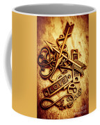 Love Charms In Romantic Signs And Symbols Coffee Mug