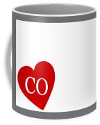 Love Colorado White Coffee Mug