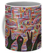 Love Hands Rendering Coffee Mug