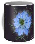Love In A Mist Black With Light Coffee Mug