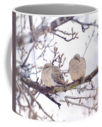 Love Is In The Air - Mourning Dove Couple Coffee Mug