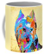 Love Is In The Dog's Eyes  Coffee Mug