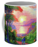 Love Is Sharing The Journey Coffee Mug