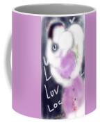 Love Lock Coffee Mug