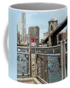 Love Locks In Brooklyn New York Coffee Mug