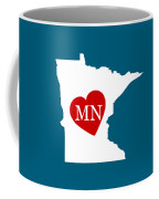 Love Minnesota White Coffee Mug