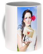 Love Note Delivery From The Heart Coffee Mug