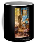Love Of Sewing Poster Coffee Mug