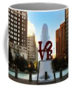 Love Park - Love Conquers All Coffee Mug