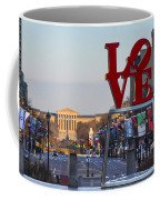 Love Park And The Parkway In Philadelphia Coffee Mug