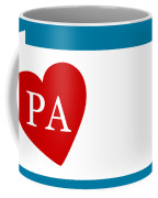 Love Pennsylvania White Coffee Mug