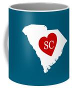 Love South Carolina White Coffee Mug
