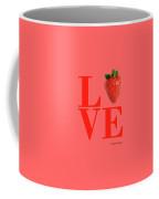 Love Strawberry Coffee Mug