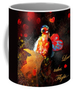 Love Takes Flight Coffee Mug