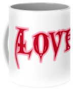 Love Text Coffee Mug