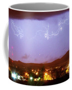 Loveland Colorado Front Range Foothills  Lightning Thunderstorm Coffee Mug