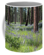 Lovely Lupine In The Mountains Coffee Mug
