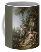 Lovers In A Park Coffee Mug