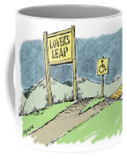 Lover's Leap. Coffee Mug