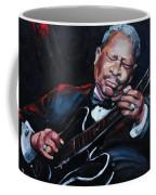 Lovin Lucille B B King Coffee Mug by Carole Foret