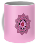 Loving Rose Mandala By Kaye Menner Coffee Mug