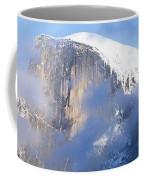 Low Angle View Of A Mountain Covered Coffee Mug